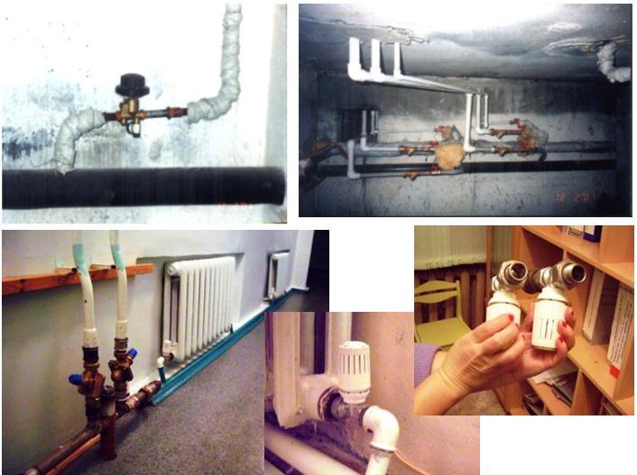 Энергосбережение в многоквартирных домах - система отопления.