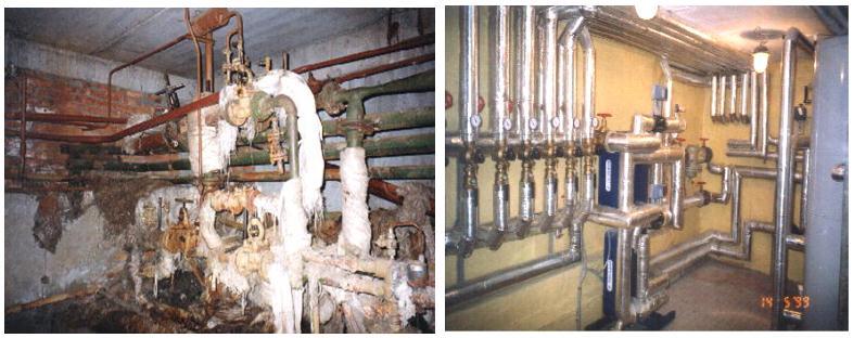 Энергосбережение в зданиях - тепловой пункт