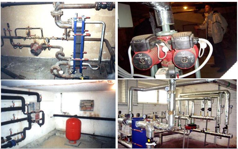 Энергосбережение в зданиях - теплоценты
