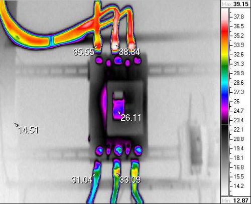 Энергоаудит – тепловизионное обследование - определение перегрузок кабелей