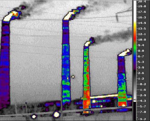 Обязательный энергоаудит - обнаружение поврежденных дымовых труб