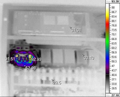 Энергоаудит - тепловизионный контроль электрических шкафов
