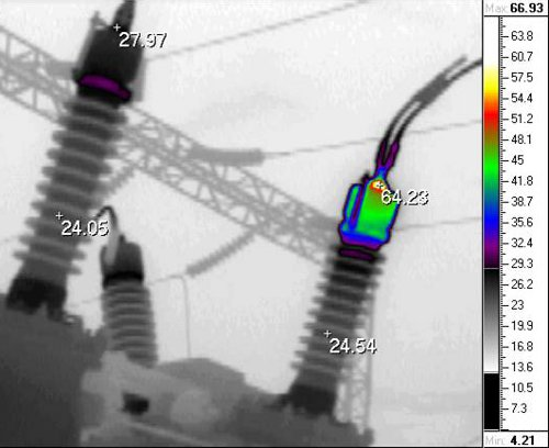 Энергоаудит – тепловизионное обследование на предприятиях - контроль электрики