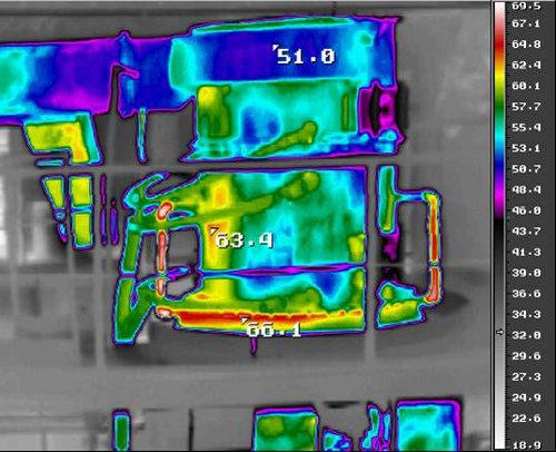 Энергетическое обследование тепловизором, обнаружение прогаров и поврежденных швов