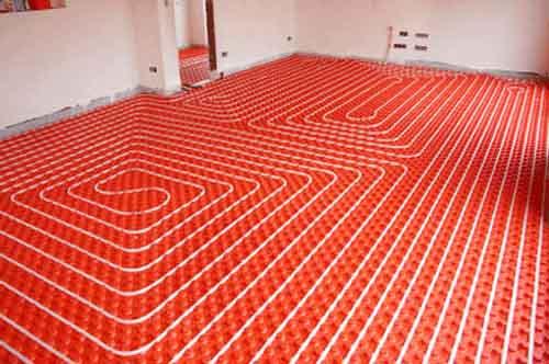 Напольное отопление как пример энергосбережения