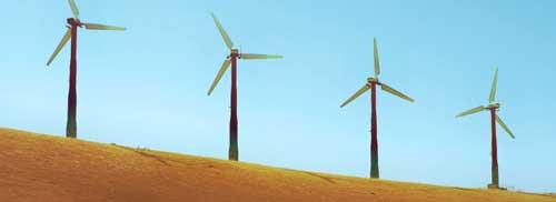 Инновации в энергосбережении - ветряные мельницы