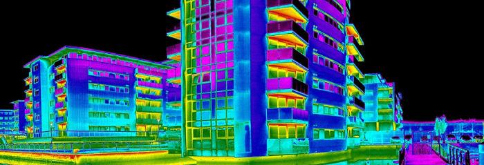 Тепловизионное обследование здания для ввода в эксплуатацию