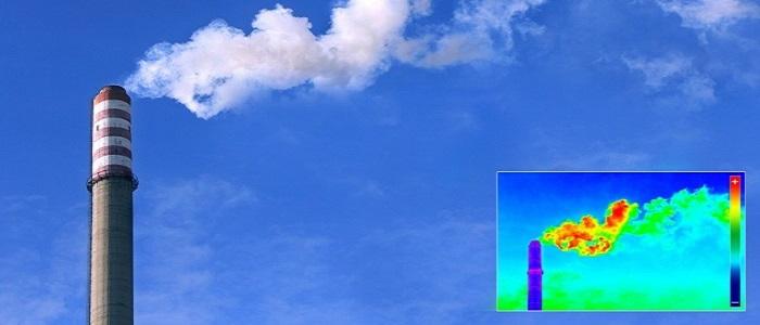 Тепловизионная диагностика дымовых труб